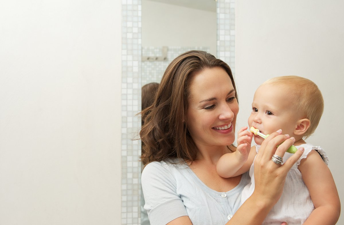 How to Brush Your Childs Teeth