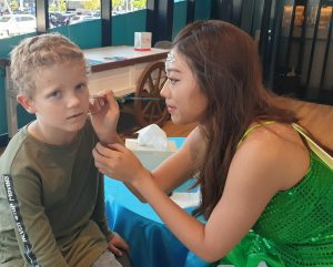 tooth fairy face painting photo