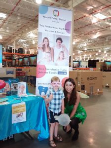 Information Stand at the Costco North Lakes Business Fair 3