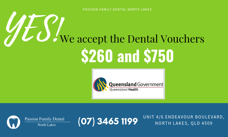 Government Dental Voucher Banner Northlakes