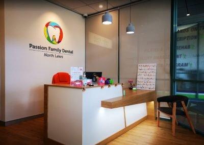 Dentist North Lakes Passion Family Dental North Lakes Reception Area